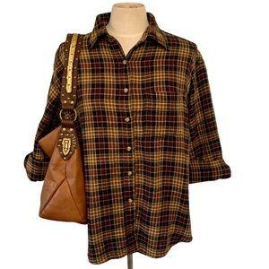 Vintage Flannel Shirt by At Last Jeanswear Sz. L